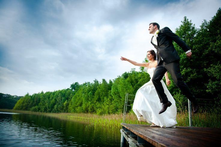 Brautpaarshooting am See #hochzeitsfoto #hochzeitspaar #wedding