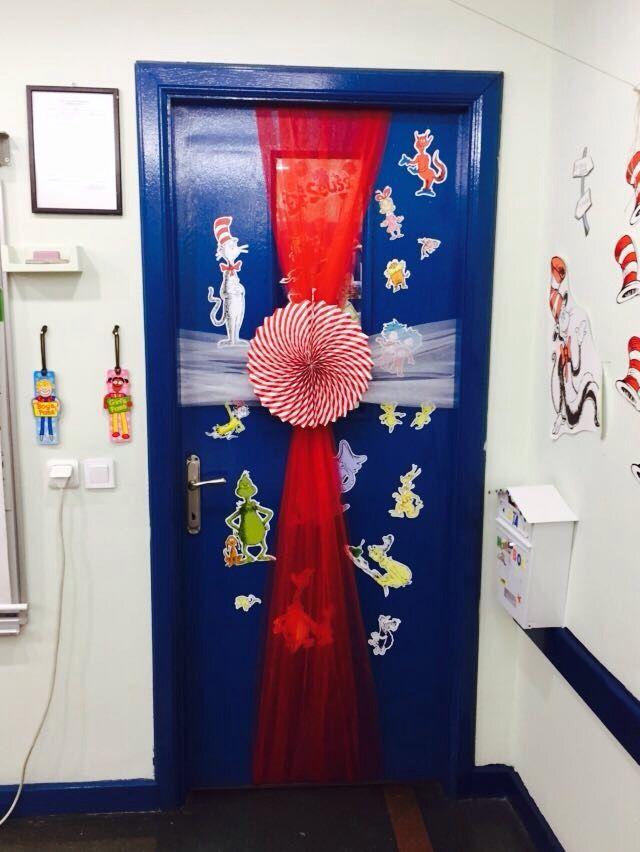 Dr Seuss door docoration