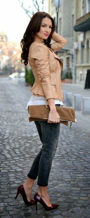 Causal Jacket # Love Inspiration