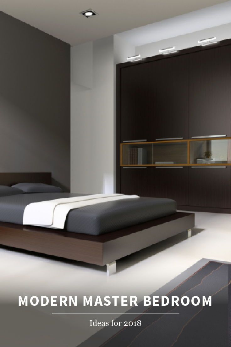 101 Sleek Modern Master Bedroom Ideas Photos