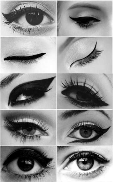 I love working with eyes! They are so unique to each person. Eyes was my fave part of makeup application class at school.