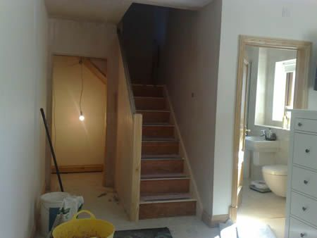 layout/location of staircase for loft conversion