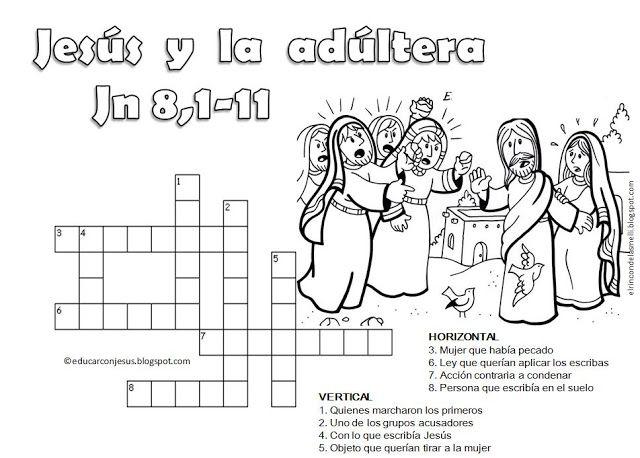 pupiletras Jesús vida y milagros escuela dominical - Buscar con Google