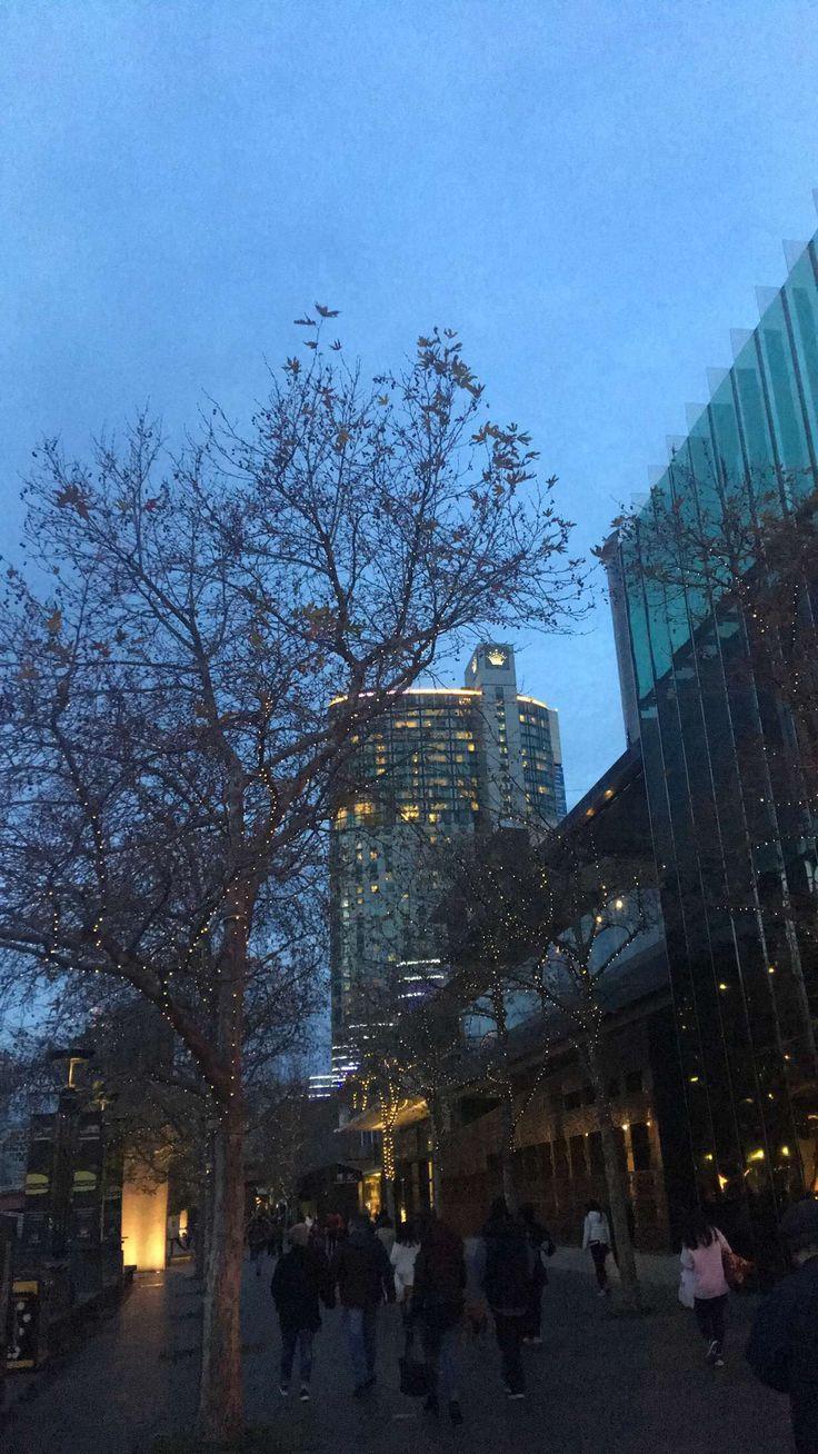 Crown Casino. Melbourne at dusk. Instagram @gypsyrose.xo