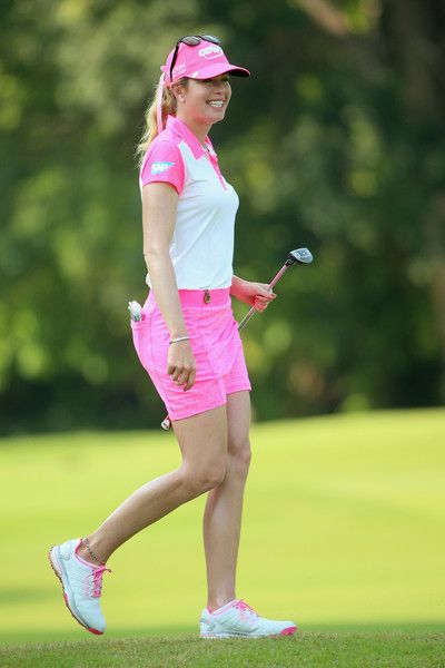 paula-creamer | Paula Creamer Paula Creamer of the USA smiles during the final round ...