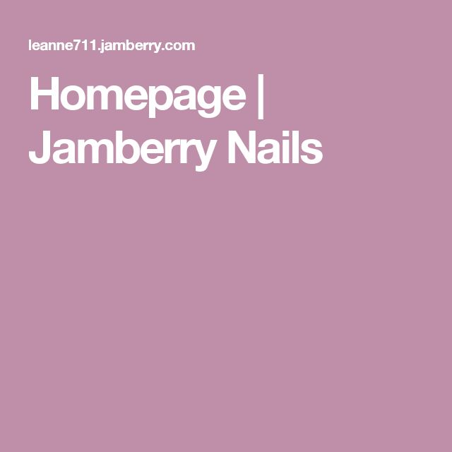 Homepage | Jamberry Nails my webpage