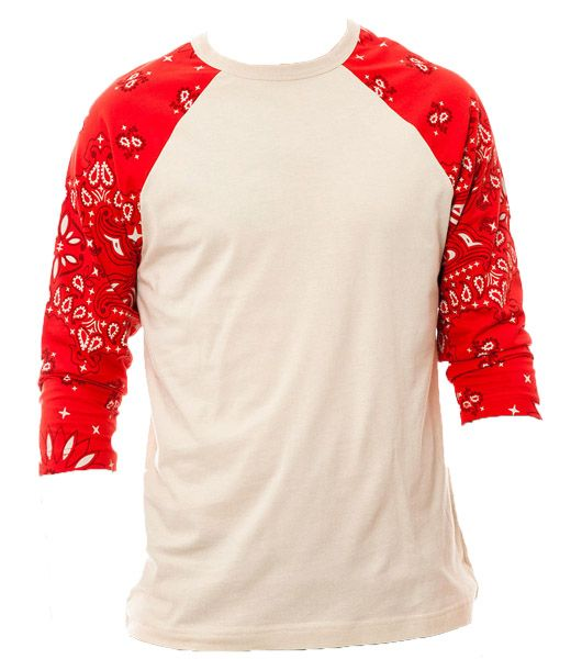 Red bandana hoodies