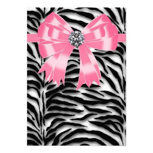 45 best art painting images on pinterest | pink zebra, zebras and, Birthday invitations