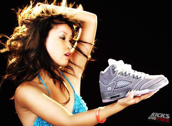 Chicks in Kicks - Rhiannon Helen x KicksOnFire | KicksOnFire