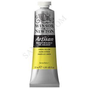 Winsor & Newton Artisan Su ile Karışabilen Yağlı Boya 346 Lemon Yellow
