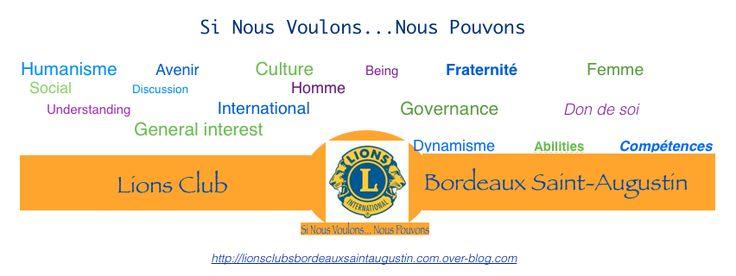 Accueil Lions Club Bordeaux Saint Augustin
