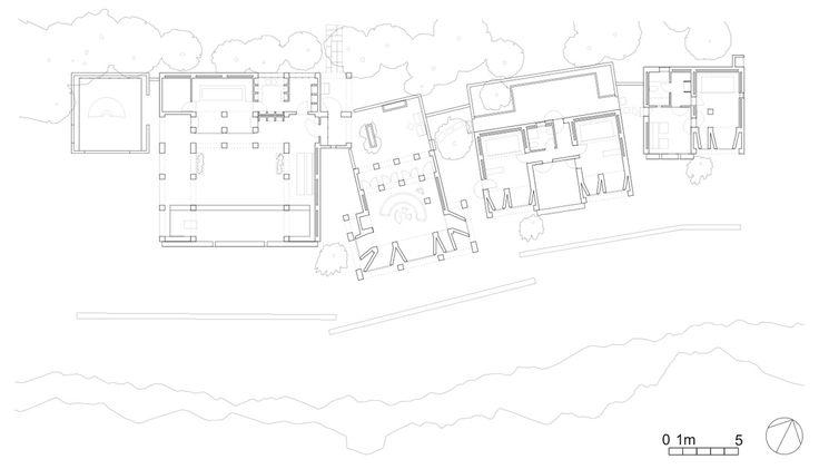 Can Lis es la casa-refugio que Utzon construyó para su propio retiro en Porto Petro, en la co