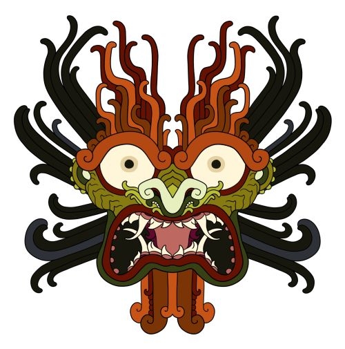monarobot:      Aku, from samurai Jack Tattoo commission (recolored to better match the cartoon version)