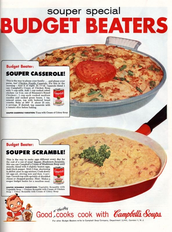 Campbell's Soup Recipes Ad