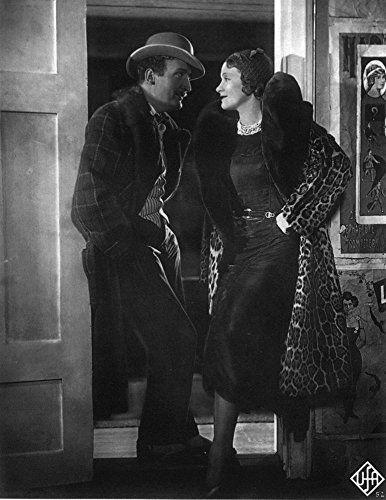 Marlene Dietrich and Hans Albers in Der blaue Engel (1930)