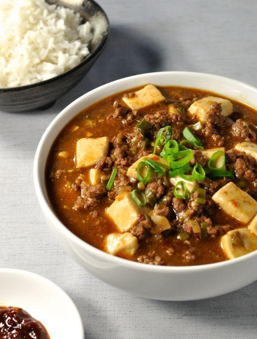 340 calories, flavour explosion!} Japanese version of famous Sichuan ...