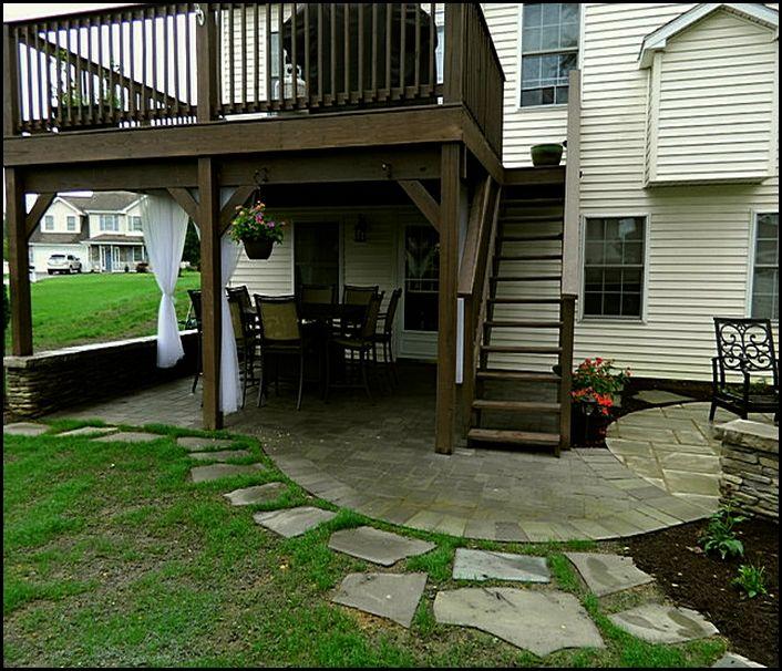 gorgeous under deck patio ideas under deck patio ideas home design ideas - Patio Ideas Under Deck