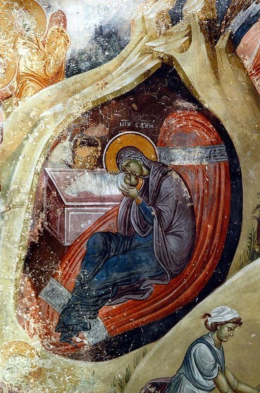 Hristos raždaetsя, slavite! Troparь Roždestva Hristova glas 4 Roždestvo Tvoe, Hriste Bože naš, vozsiя mirovi svet razuma, v nem bo zvezdam služaщii zvezdoю…