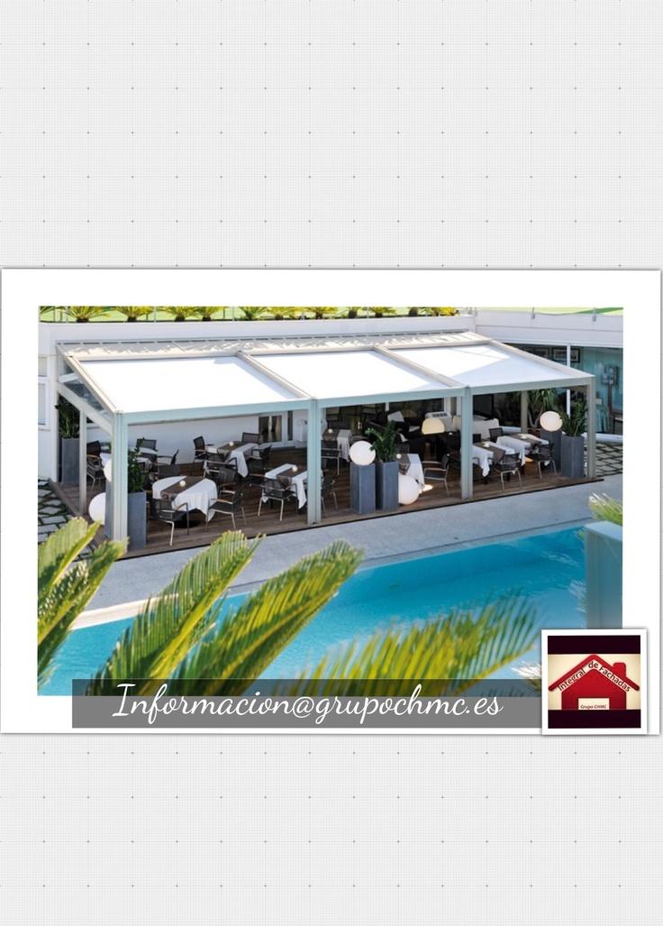 43 best images about toldos p rgolas decoraci n exterior for Toldos para pergolas