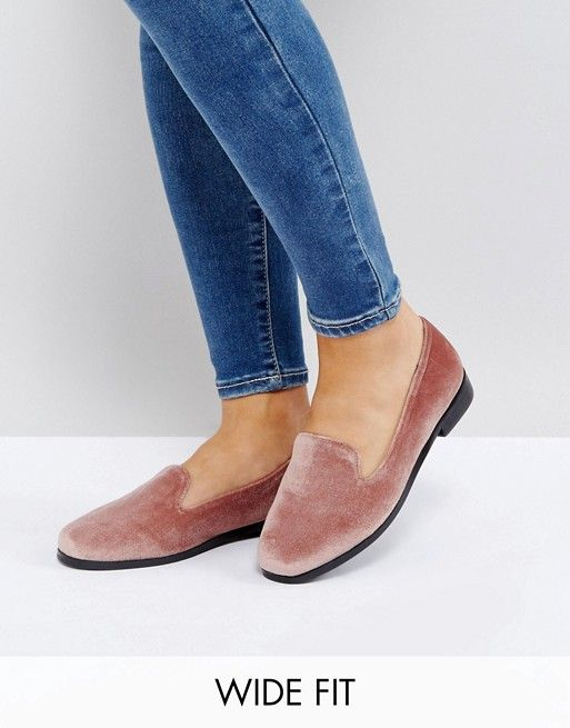 5370b9245472 MALBEC Wide Fit Flat Shoes