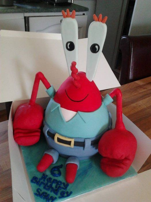 mr crabs - by thehobbycakery @ CakesDecor.com - cake decorating website