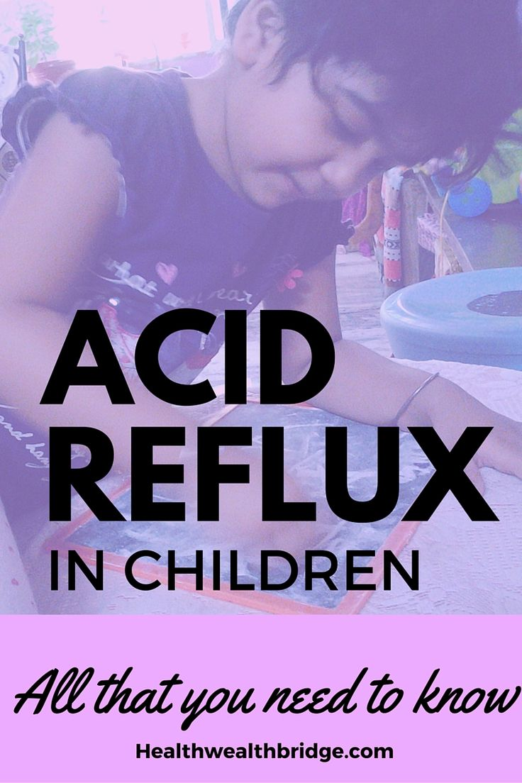 http://healthwealthbridge.com/acid-reflux-in-children-all-that-you-need-to-know/     C hildren have acid reflux too. Their reflux presents as  excessive burping,regurgitation of food, feeding problem,cough earache, irritability and many such subtle symptoms.Learn how you can identify reflux and help prevent it in your child.