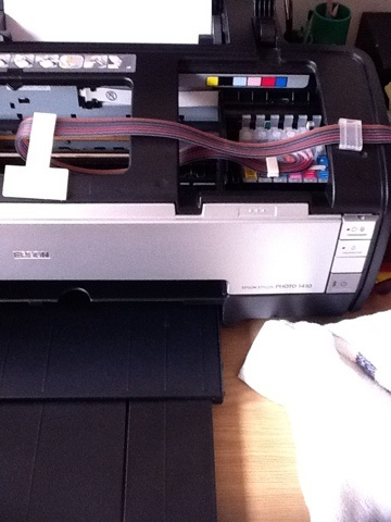Shamela's Stamp n Scrap Corner: Pictures of printer as promised