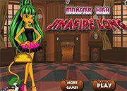 Jinafire Long Monster High | Juegos Monster High - jugar online