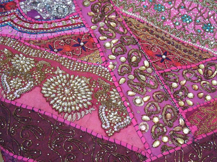 Magenta, fuschia, hot pink bedroom decor | Indian Decorating Handmade Bedspread Home Decor Bed Cover Bedding Wall ...