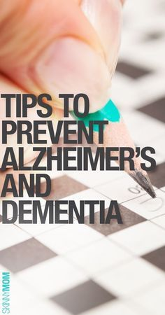 Get the skinny on alzheimer's prevention.