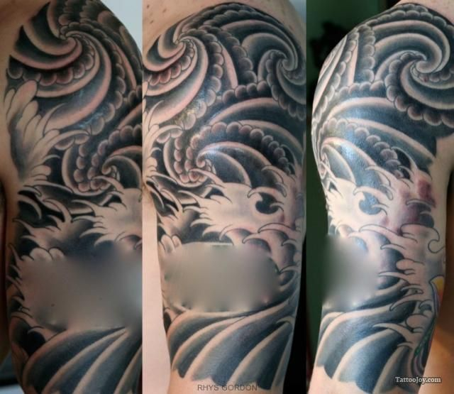 Japanese Wind Tattoo: 1000+ Images About Water Tattoo Designs On Pinterest