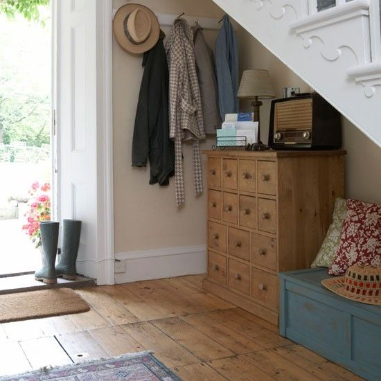 Utilise under-stair space