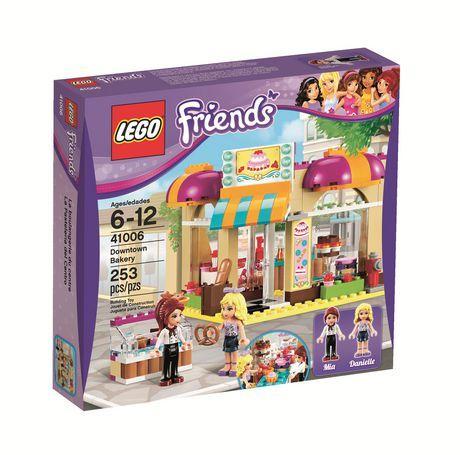 LEGO Friends - La boulangerie du centre (41006) au Walmart.ca. Magasinez en ligne et profitez de livraison gratuit! Aucun achat minimum requis et politique de retour simple.