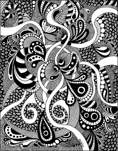 Big Zentangle by PRaile, via Flickr