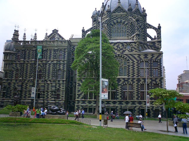 Another gothic church in Medellin Colombia