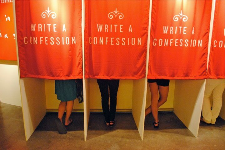 ''As they say, what happens in Vegas stays in Vegas – but what if we could share with full discretion? Everyone of us has his own little secrets and 'Confessions', a public art project by american artist Candy Chang, invites people to anonymously share their confessions and see the confessions of people around them in the heart of the Las Vegas strip.''