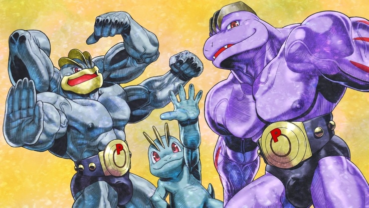 Machop, Machoke & Machamp | PokemoN | Pinterest | Evolution
