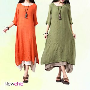 Comfortable neckline design,wear soft and breath freely,two layer design makes the fuller figure lady easy to wear.