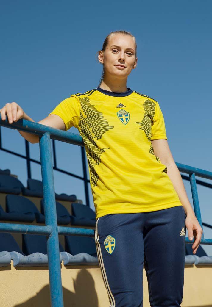 bec9b2ec63d adidas Unveil The Sweden 2019 WWC Home Shirt - SoccerBible ...