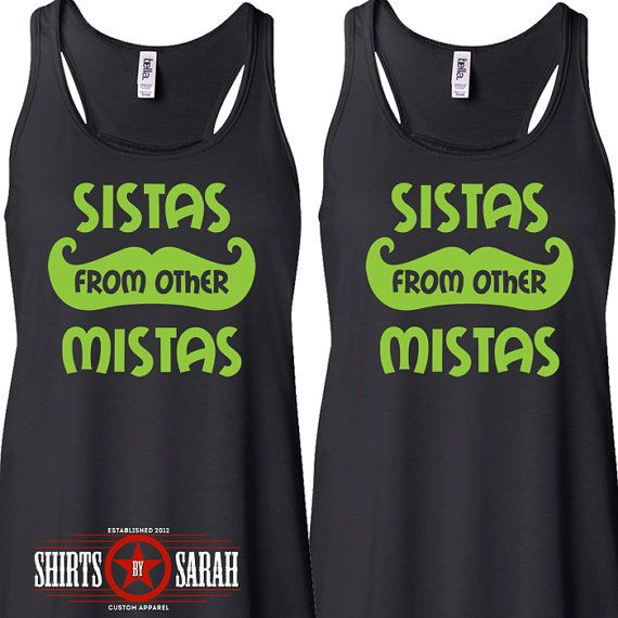 Women's Best Friends Shirt Tanks - Tank Tops Hipster Sistas From Other Mistas Shirts Tops on Etsy, $44.98