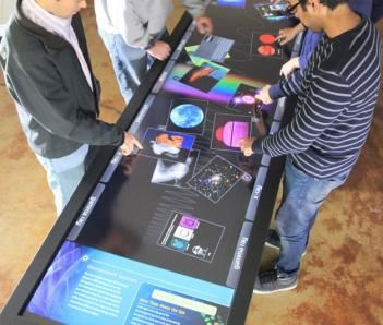 THIS IS FANTASTIC! – 100-inch touchscreen table   – Geeky