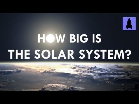 How Big is the Solar System? -While we all realize that our solar system is large, we may not have a good idea of just how huge it actually is. Enter the folks from 'It's Okay to be Smart' with the outdoor solar system model they put together for this video