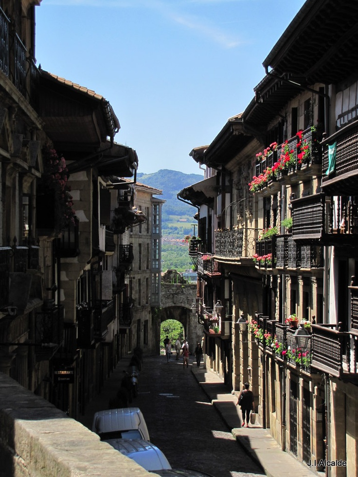 Hondarribia, Guipuzcoa. spent my summers here growing up. the nostalgia almost hurts! want to go back soon!