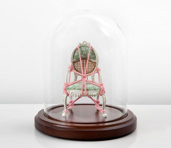 "Custom Order of ""Serial Bondage"" - miniature art installation - $400 on #etsy"