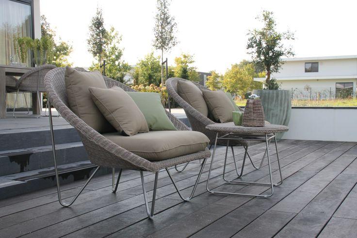 #tuinset #lounge #tuinstoelen #loungestoel #wicker #tuinmeubelen #chair #outdoor #patio #furniture ♥ #Fonteyn