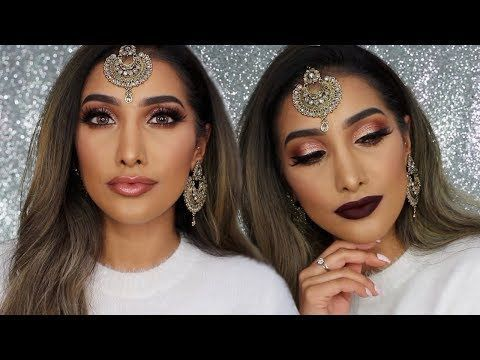 Rose Gold Indian Wedding Makeup - ★Ofra x Nikkie Tutorials - Glow Goals★ (USE CODE PINNER FOR 30% OFF!!)  https://www.ofracosmetics.com/products/glow-goals-highlighter