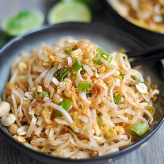 An easy, delicious, authentic recipe for Pad Thai with easy to find ingredients.