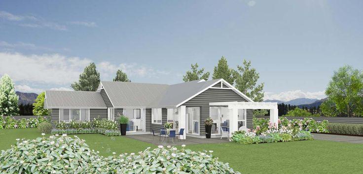 Cameo 3 bedroom house design Landmark builders NZ