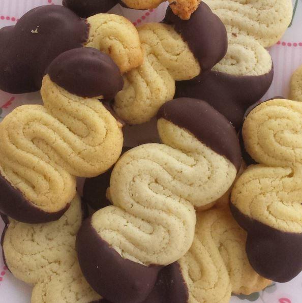 Biscottini di frolla montata | Le ricette di petalina
