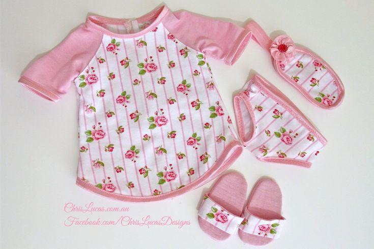 AG Dolls Pajamas - Chris Lucas Designs